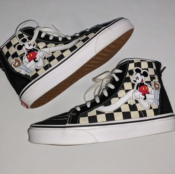 Vans Disney Mickey 9th Annv Sk8hi Zip
